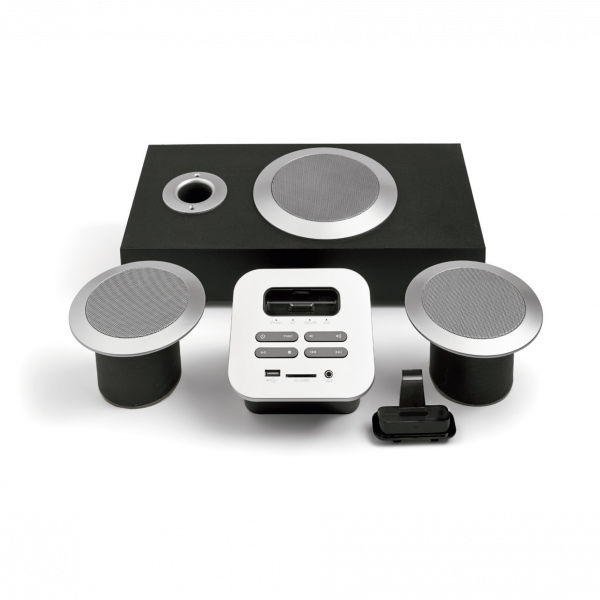 Audio system and Subwoofer for Iphone - Suministros Lomar