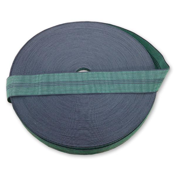 Green Elastic Webbing 60 mm