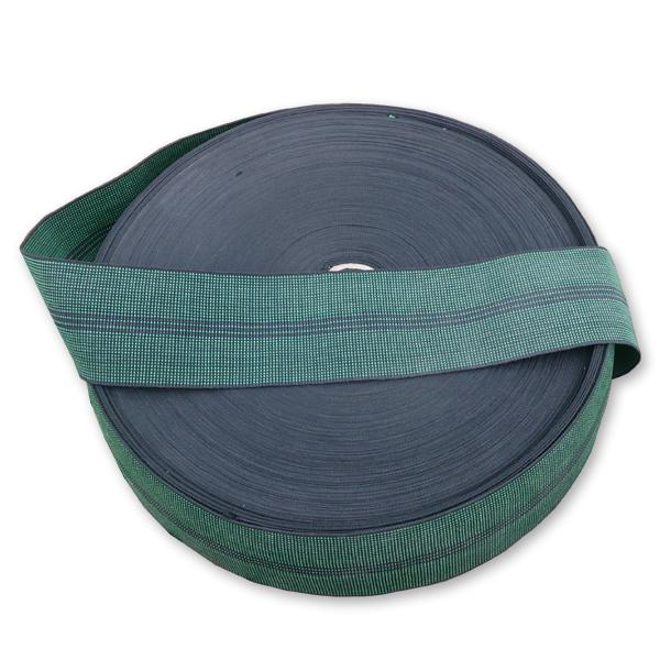 Green Elastic Webbing 80 mm