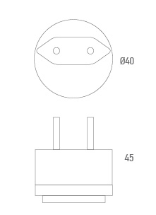 Connecteur adaptateur UE - Technique