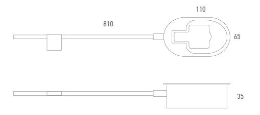 Cable activador con cazoleta personalizado - Técnico