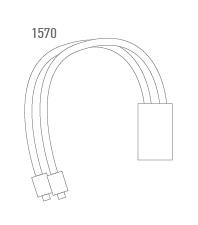 Cable adaptador 2 motores - técnico