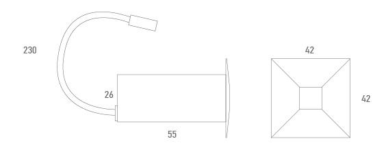 Base cargador 2 USB - Técnico