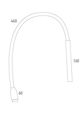 Lámpara 10 LEDS conexión USB - Técnico