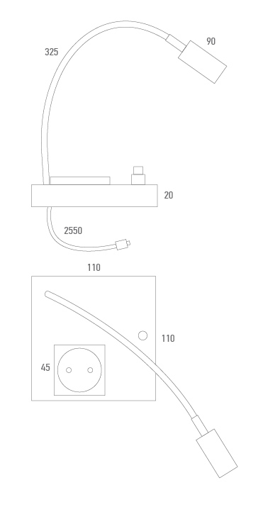 Lámpara con Enchufe - Técnico