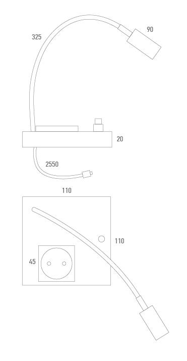 Plug-Lampe - Techniker