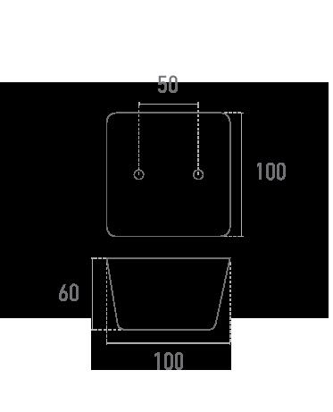 Inyectada MOD. 15 - Plano técnico - Suministros Lomar