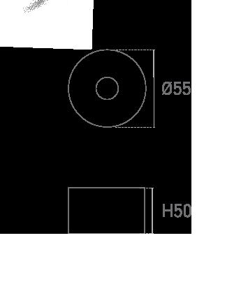 Mod. Redonda MT 5 - Plano técnico - Suministros Lomar