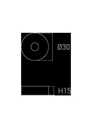 Mod. Redonda 1,5 - Plano técnico - Suministros Lomar