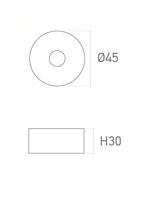 型号:30mm 圆形