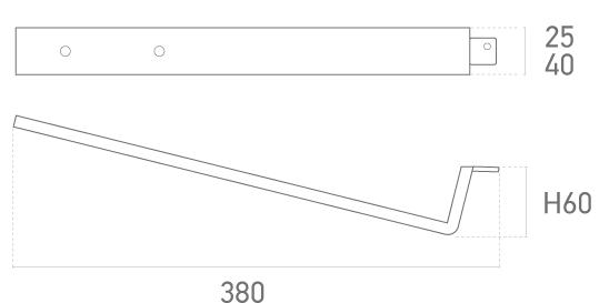 Mod. 320-001 (Ares Grande) - Plano técnico - Suministros Lomar