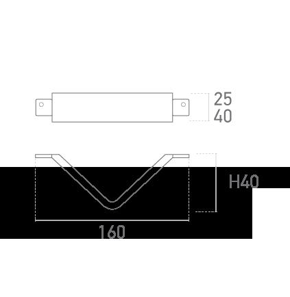 Mod. 320-002 (Ares Pequeña) - Plano técnico - Suministros Lomar