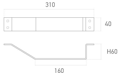 Mod. 321-009 - Plano técnico - Suministros Lomar