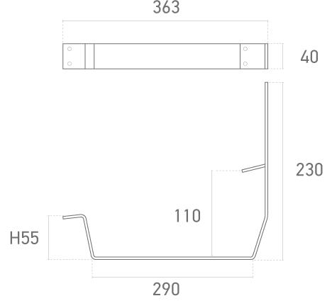 Mod. 321-010 - Plano técnico - Suministros Lomar