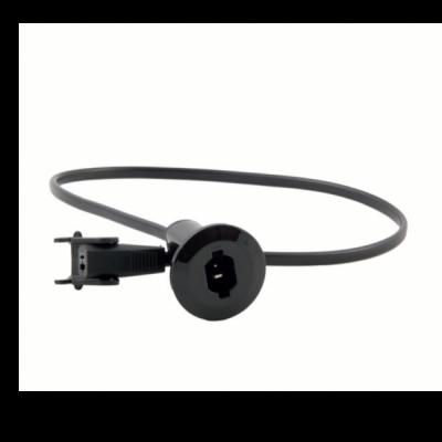 Ligador de embutir traseiro preto - Suministros Lomar
